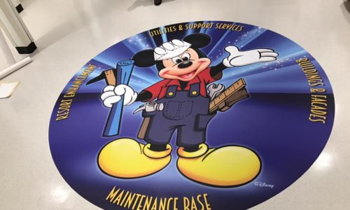 Disney Floor Graphic
