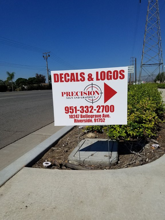Yard Signs - Zoning regulations for in Fontana, Rancho, Jurupa, Riverside and Eastvale areas