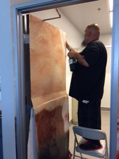 Indoor Printed Wallpaper- Precision Sign and Graphics: Riverside CA