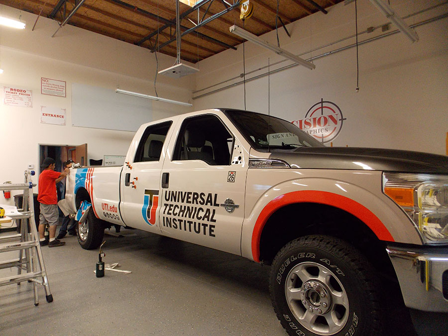 Vehicle graphics - Vehicle graphics, wraps and lettering in Vinyl vehicle wraps in Fontana, Rancho, Jurupa, Riverside and Eastvale areas