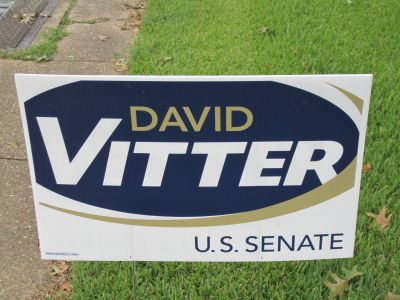 Picture of a political sign - advertising materials in Fontana, Rancho, Jurupa, Riverside and Eastvale