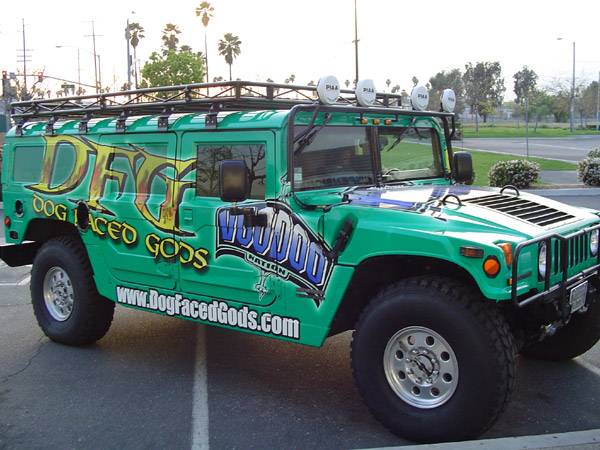 A wrap applied on a jeep - Vehicle Wraps in Fontana, Rancho, Jurupa, Riverside and Eastvale