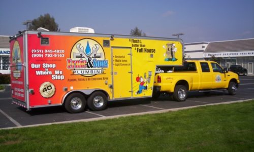 It's time to freshen up your vehicle fleet wraps!