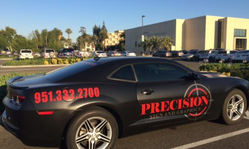 Reasons to consider vehicle wrap from Precision Sign and Graphics