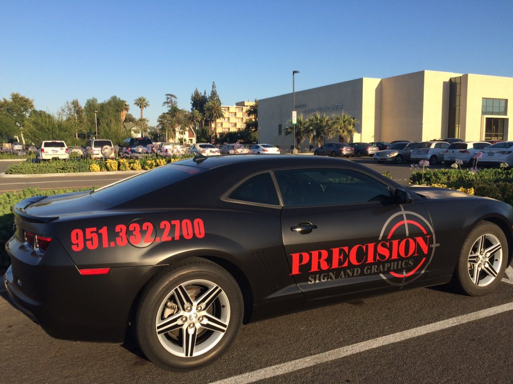 car- vehicle wrap: Fontana, Rancho, Jurupa, Riverside and Eastvale