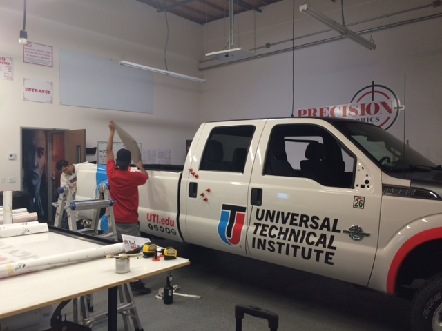 Vehicle lettering - Vehicle Wraps in Fontana, Rancho, Jurupa, Riverside and Eastvale
