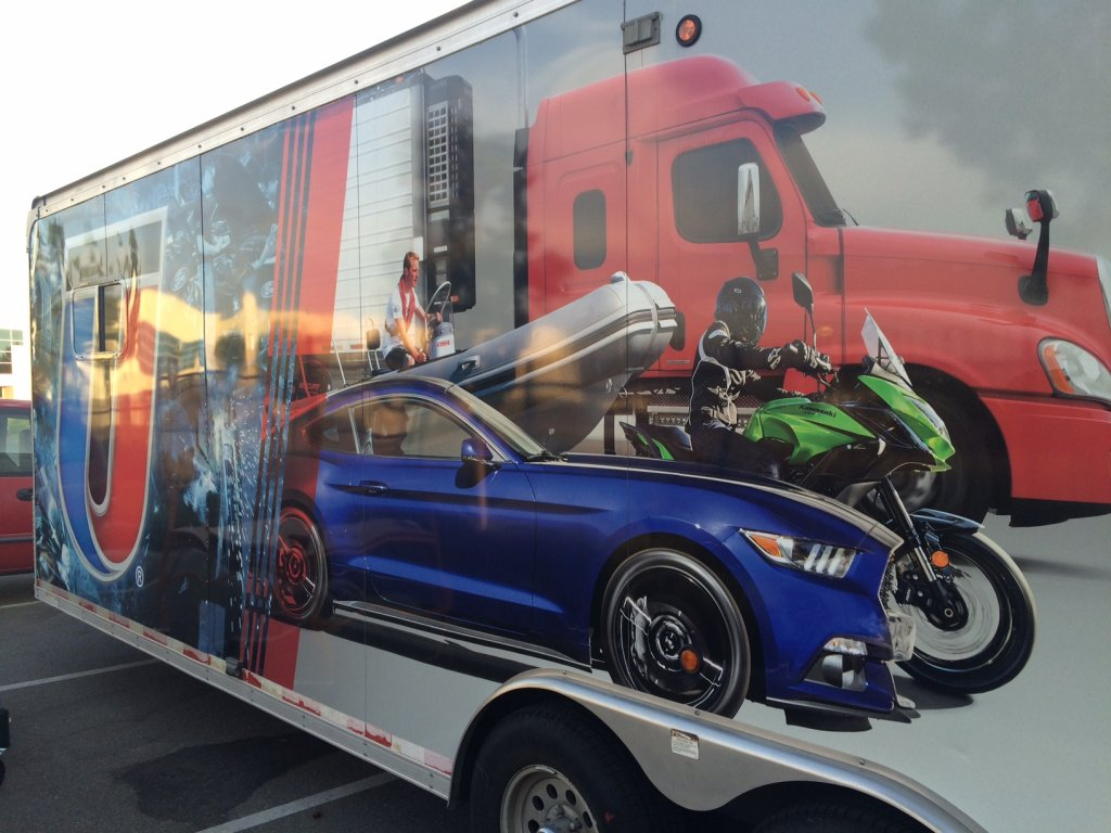 UTI Wrapped Trailer - Vehicle Wraps in Fontana, Rancho, Jurupa, Riverside and Eastvale