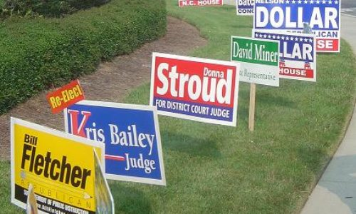 Best Practices for Political Yard Signs and Banners