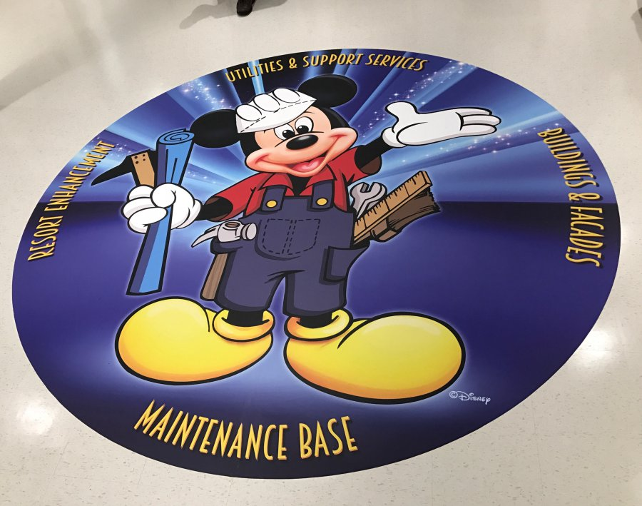 picture of a floor graphic Precision Sign and Graphics in Riverside, CA.. is your local source for Vehicle magnets, Signs, Vehicle wraps and more.. Call us today! (951) 332-2700