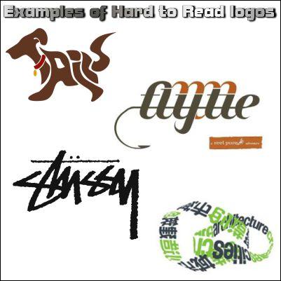 hard to read logos - Sign Company in Fontana, Rancho, Jurupa, Riverside and Eastvale