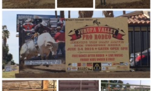 JURUPA VALLEY, CA – Design, Production, and Installation of Signs for Jurupa Valley Pro Rodeo